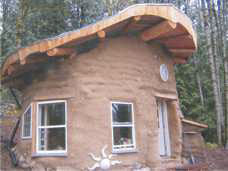 Earth Bag House built by Earthen Hand