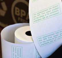 Bisphenol free receipts