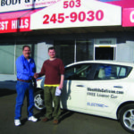 West Hills Collision Center Invests in Electric Loaner Cars