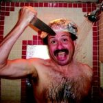 jeff yeager in shower