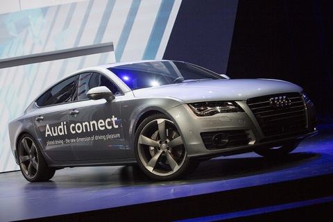 Audi Exterior Fuel Saving