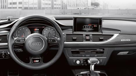 interior Audi Fuel saving