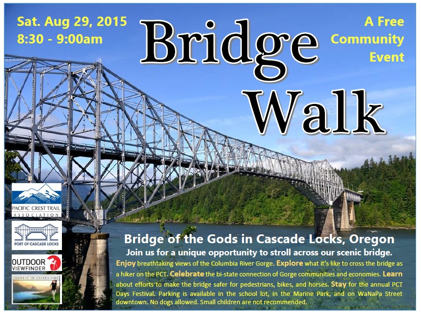 2015 Bridge Walk Event Poster Revised